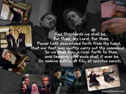 The Boondock Saints collage