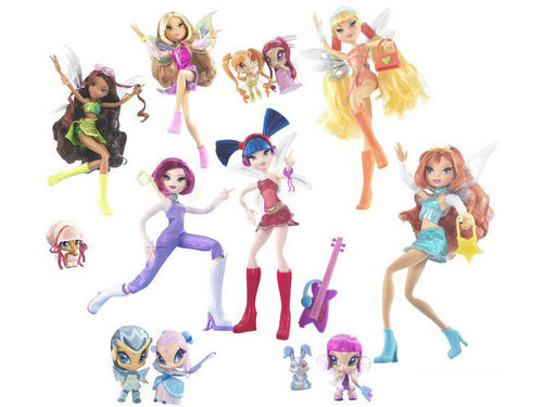 -Winx- Pixie Magic Dolls!