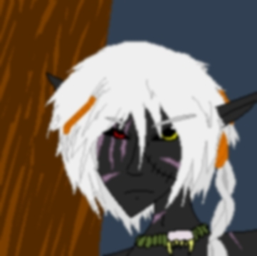 Adrian(Head veiw),the only Drow OC on here