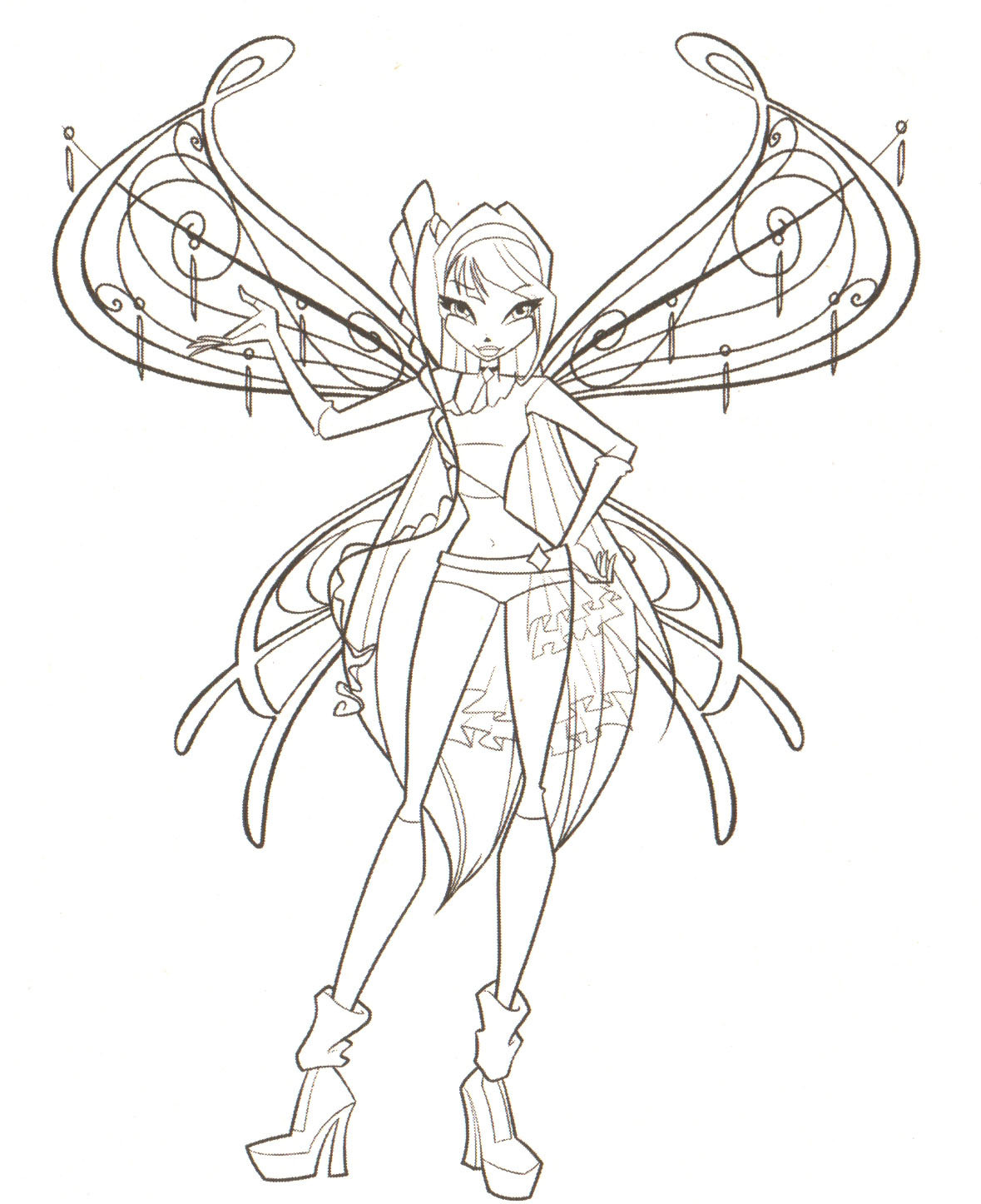 Coloring Pages The Winx Club Foto 18341776 Fanpop