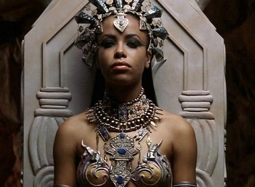 Aaliyah as Akasha - Queen Of The Damned