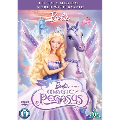 Barbie and The Mgaic of Pegasus 2D - NEW COVER!