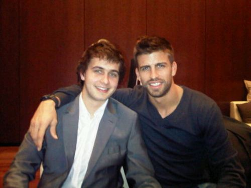 The brother of Gerard Pique, Marc Pique