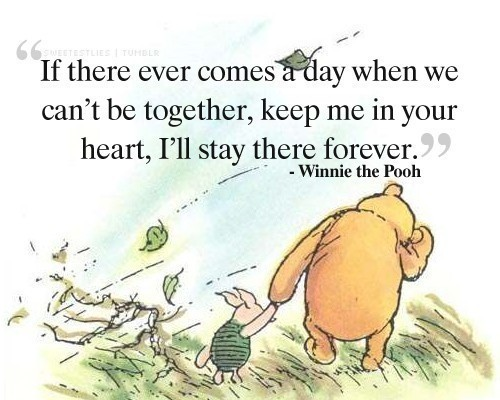 Winnie the Pooh quotation