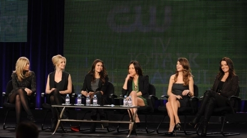 Additional photos from the 'Kick-Ass Women of the CW' panel.
