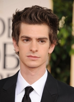 Andrew at The Golden Globe Awards - Arrivals