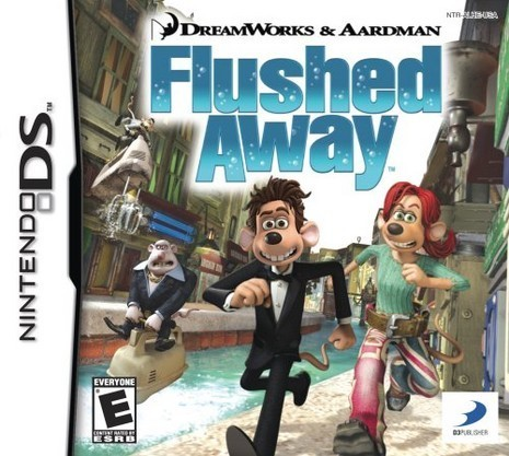 Flushed Away Video Game (Nintendo DS)