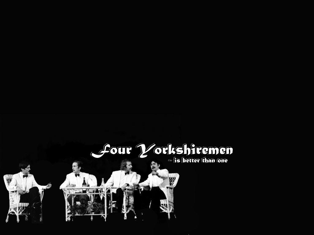 Four Yorkshiremen Monty Python Wallpaper 18510864 Fanpop