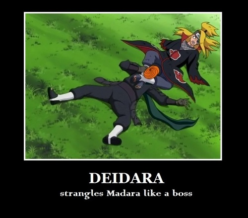 Deidara and Tobi funny