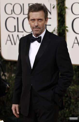 Hugh Laurie @ the 2011 Golden Globes (HQ)
