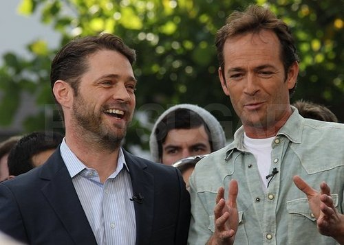 Luke Perry w/Jason Priestley