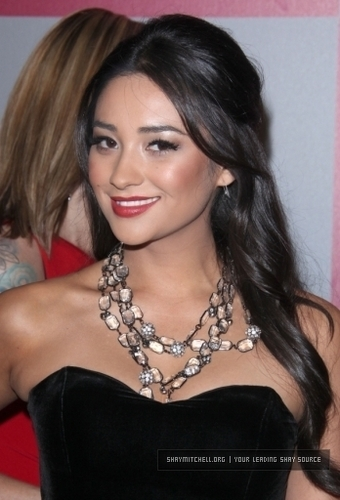 Shay Mitchell 2011 InStyle/Warner Bros. Golden Globe Awards Party
