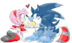 sonic the werehog and amy rose