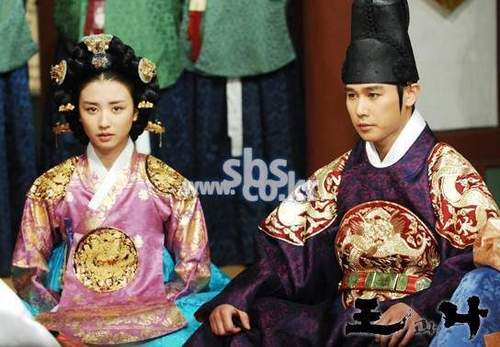 the king and i (King Yeonsangun and his Queen)