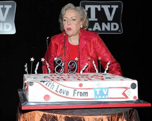 Blow Out the Candles Betty!
