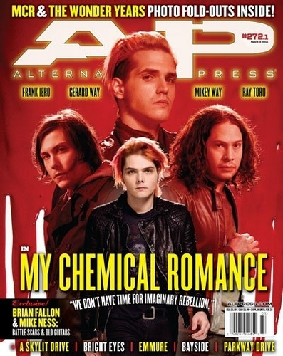 MCR on AP Magazine (February 2011)