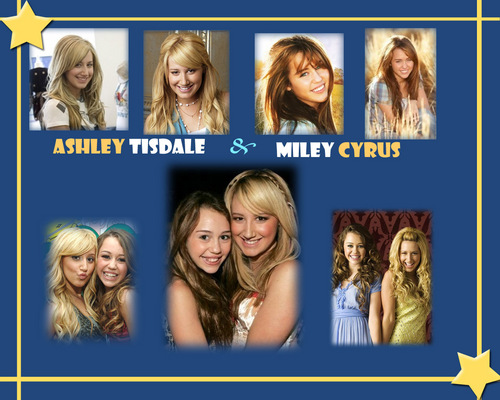 Miley and Ashely