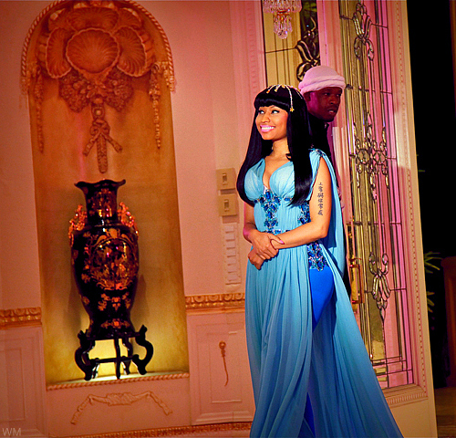 Nicki - 'Moment For Life' video stills