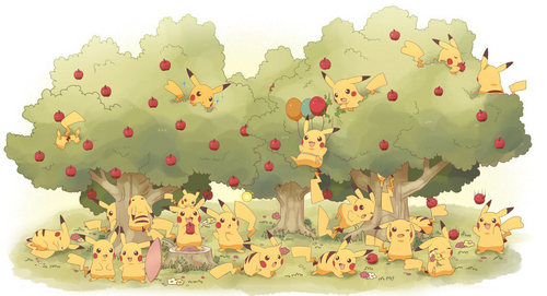 Pikachu's forest