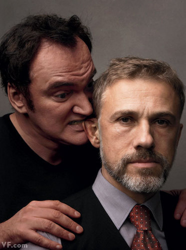 Quentin T and Christoph Waltz