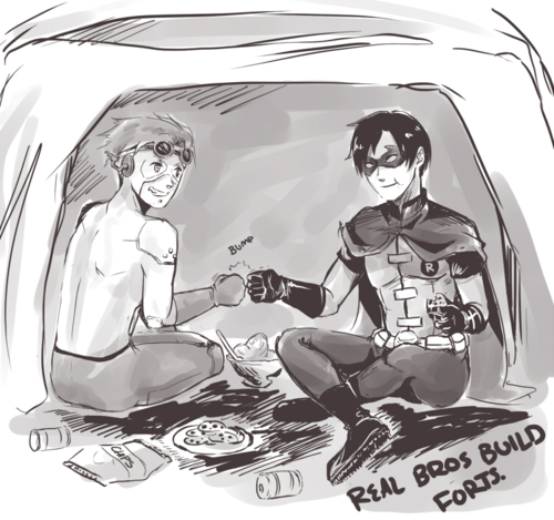 Real Young Justice Bros