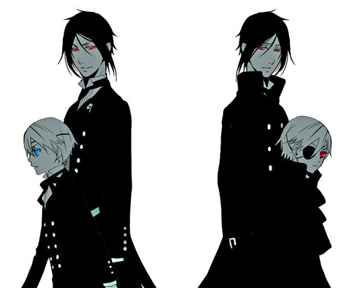 Sebastian and Ciel then and now