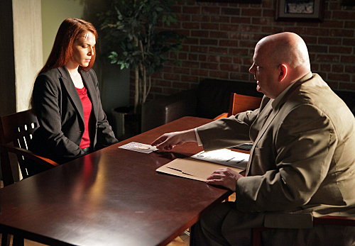 The Mentalist Blood for blood 3x14 Promotional fotografias