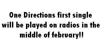 "1D = Heartthrobs (1st Single ""4eva Young"" Will B Played On Radio Middle Of Feb) OMG! 100% Real :) x"