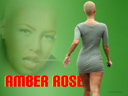 Amber Rose from Behind