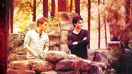 Bonnie stefan and damon