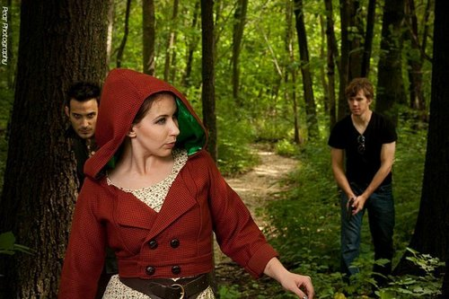 Here Comes Little Red Riding Hood
