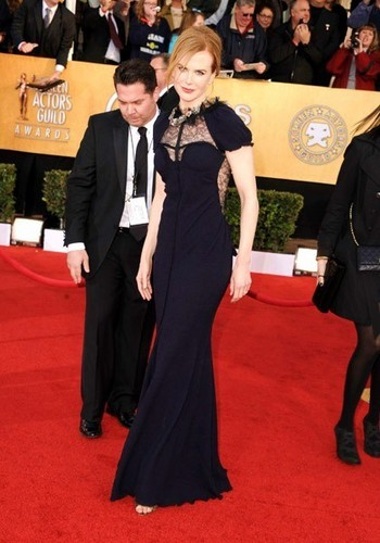 Nicole Kidman at the 17th Annual Screen Actors Guild Awards
