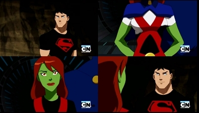 Superboy and Ms. Martian l'amour