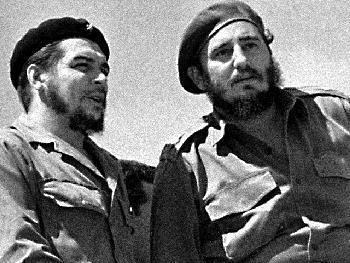 che guevara and fidel