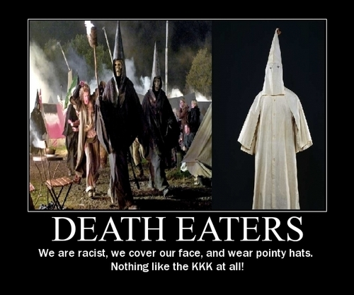 Death Eaters and the Ku Klux Klan
