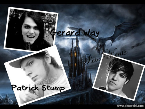 Pete Wentz, Gerard Way and PATRICK STUMP!!!!