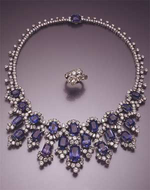 Princess Soraya's jewellery.