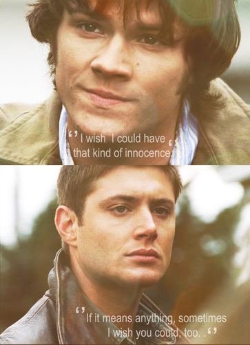 Supernatural ''Something Wicked'' quote