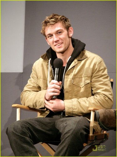 Alex Pettyfer: Meet the Filmmakers at Apple Soho