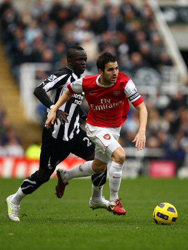 Cesc (Newcastle - Arsenal)