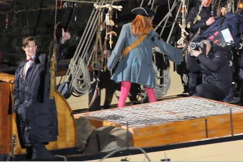Doctor Who series 6 filming in Cornwall