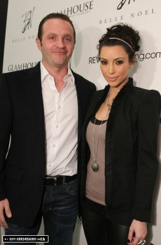 Kim launches her new jewelry line, 'Belle Noel' 2/3/11