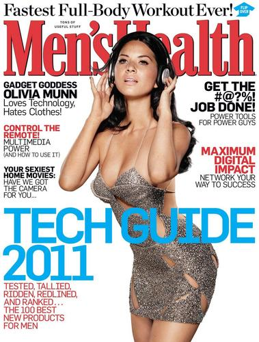 Olivia - Men's Health Magazine (December 2010)