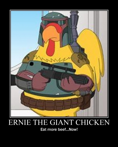 Ernie The Giant Chicken!!