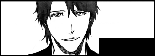 Lieutenant Aizen without Glasses