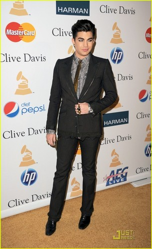 Adam Lambert: Pre-Grammy Salute To Industry Icons