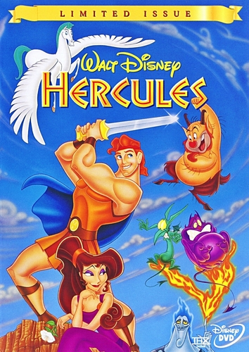 Hercules - Limited Issue DVD Cover