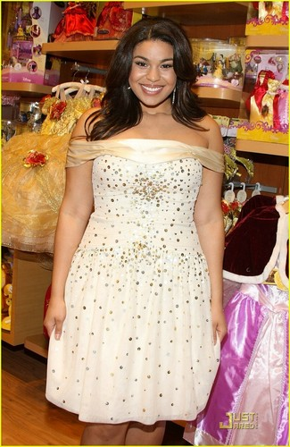 Jordin Sparks Opens Disney Store in Times Square