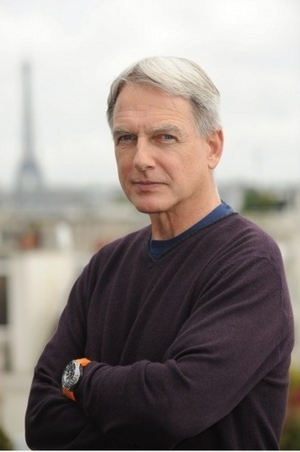 Mark Harmon in Paris