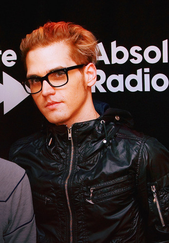 Mikey with glasses